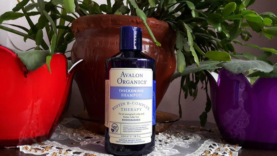 Avalon Organics Biotin B-Complex Therapy Thickening Şampuan